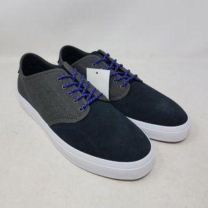 Converse CONS Zakim Suede OX Black Men's Size 11.5